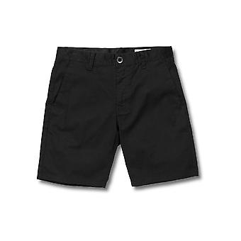 Volcom Men's Stretch Shorts ~ Frickin Modern Stretch 19 black