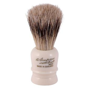 Simpsons Wee Scot Best Badger Hair Shaving Brush With Imitation Ivory Handle