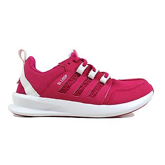 Adidas SL boucle Runner J Pink/White S85624 école primaire
