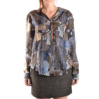 Jacob Cohen Ezbc054200 Frauen's Multicolor Seide Shirt