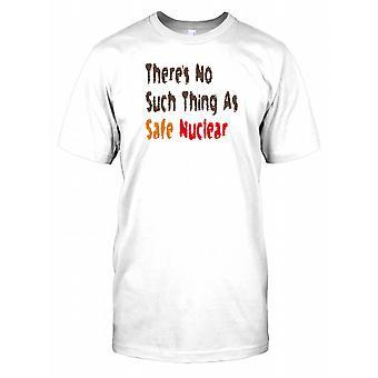 Træerne ikke sådan noget som sikkert nukleare Herre T Shirt