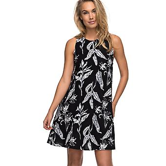 Roxy Womens Tomorrows Dress - Anthracite Love Letter Black