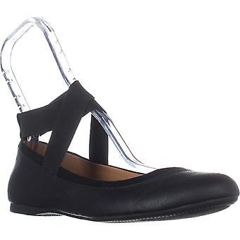 Stijl & Co. Womens Beaa lederen ronde teen Casual enkel riem sandalen