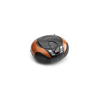 Lenco SCD37 Draagbare AM/FM Radio met CD/MP3-Speler met USB-Aansluiting