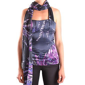 Apenas Cavalli Ezbc141013 Women's Purple Polyester Top