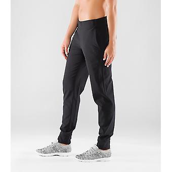 Virus EST01 Womens Airflex Track Pants - Black/Silver