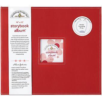 Doodlebug Design Lienka 12x12 palcový album rozprávkovej knihy
