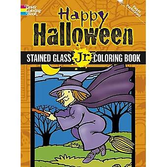 Happy Halloween - Stained Glass Jr. Coloring Book by Cathy Beylon - 97