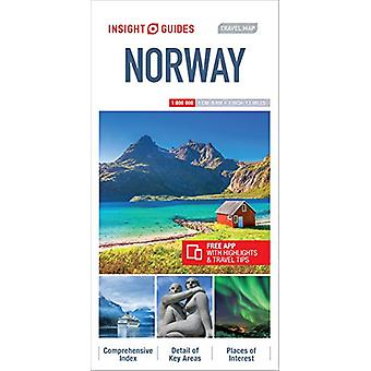 Insight Guides Travel Map Norway - 9781786718716 Book
