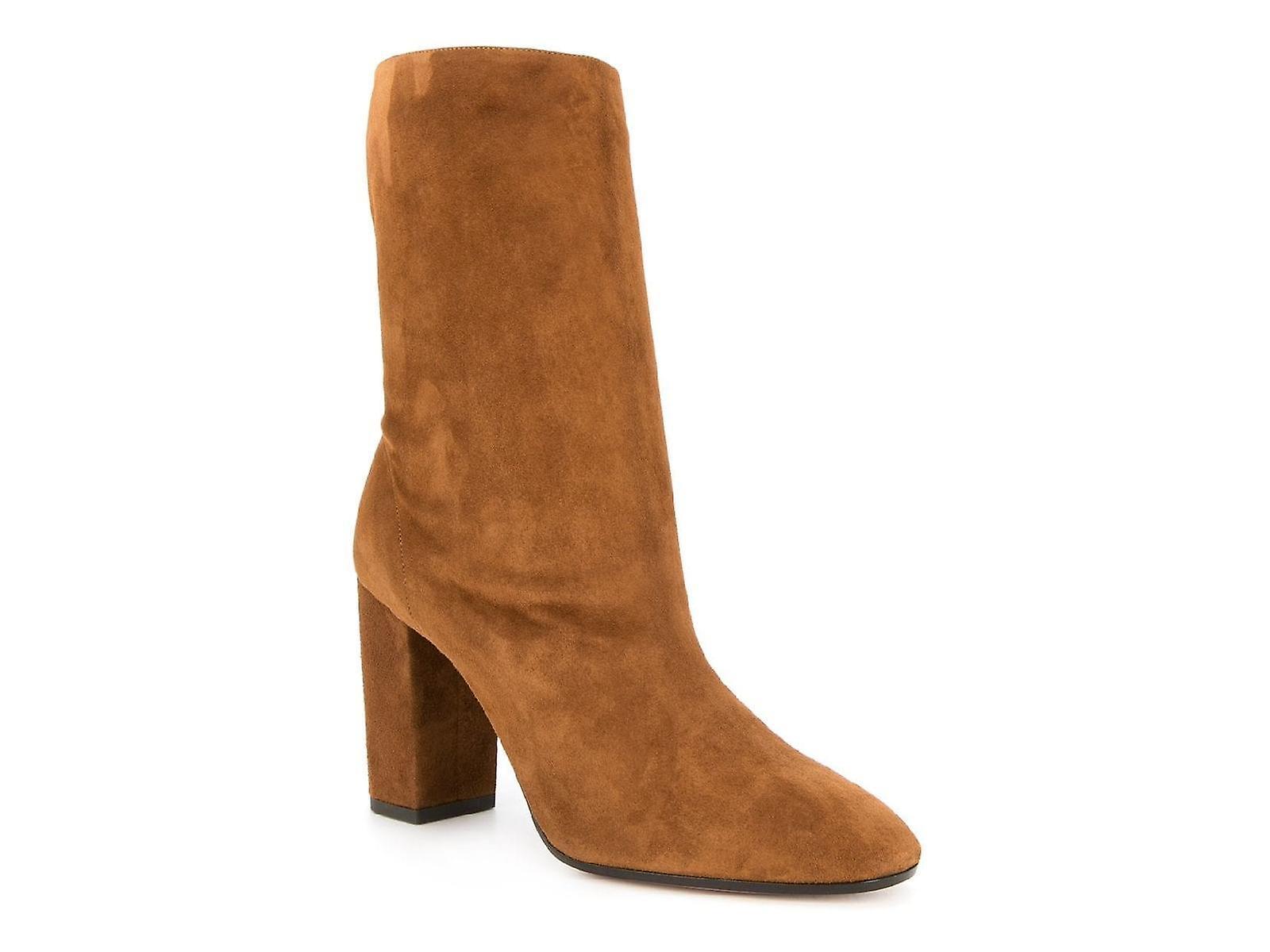Aquazzura Boomidb0sue Women's Brown Suede Ankle Boots