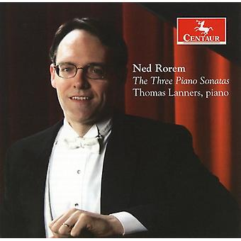 N. Rorem - Ned Rorem: The Three Piano Sonatas [CD] USA import