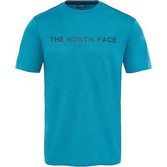 רכבת הפנים הצפון N לוגו T93UWV9FV הכשרה גברים קיץ חולצת טריקו