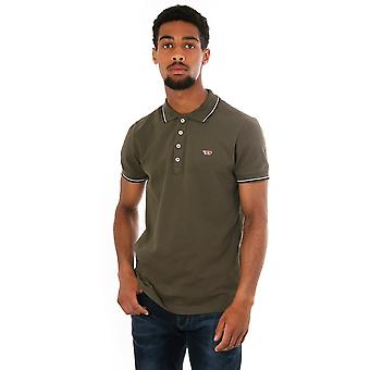 Diesel Randy New Polo Shirt With Contrast Piping