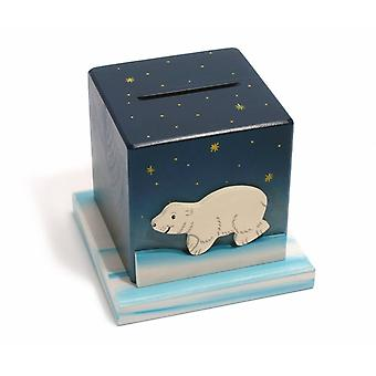 Weizenkorn Piggy Bank 3D Polar Bear