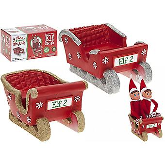 Elves Behavin Badly Double Elf Sleigh - One Supplied At Random