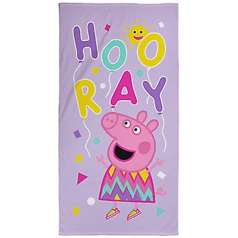 Peppa Pig Ballons Beach Towel Peppa Pig Balloons Beach Towel Peppa Pig Balloons Beach Towel Peppa