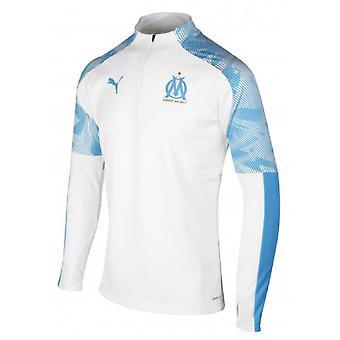 2019-2020 Marseille Training Fleece (Weiß)