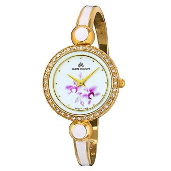 Andre Mouche - Wristwatch - Ladies - ARIA-CRYSTAL-FLOWER - 460-01221