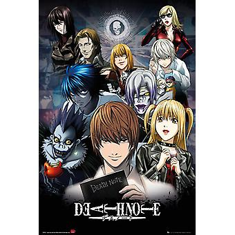 Death Note Collage Maxi Poster 61x91.5cm