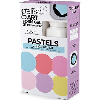 Gelish Nail Art Form 2019 Gel Kit - Pastelli (6 X 5g)