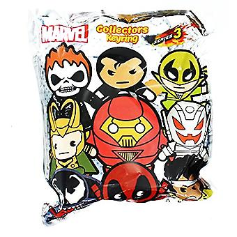 Key Chain - Marvel  - 3D PVC Foam Collectible Blind-Box Series 3 68225