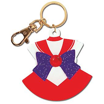 Key Chain - Sailor Moon - New Mars Costume Acrylic Anime Licensed ge85095