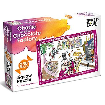Paul Lamond Roald Dahl Charlie and The Chocolate Factory 250 Piece Jigsaw Puzzle