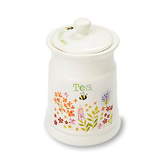 Cooksmart Bee Happy Ceramic Tea Canister