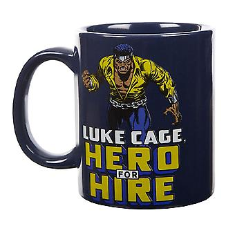 Mug Marvel Luke Cage Hero for Hire Coffee Mug Licensed - cmg-mc-lcpse
