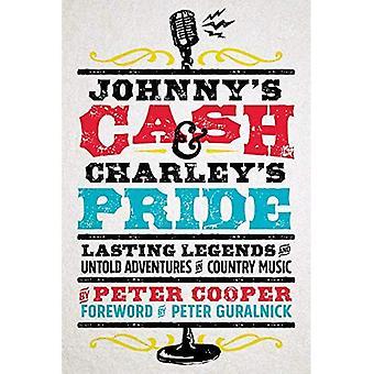 Cash de Johnny e Charley Pride: duração de lendas e incontáveis aventuras em música Country