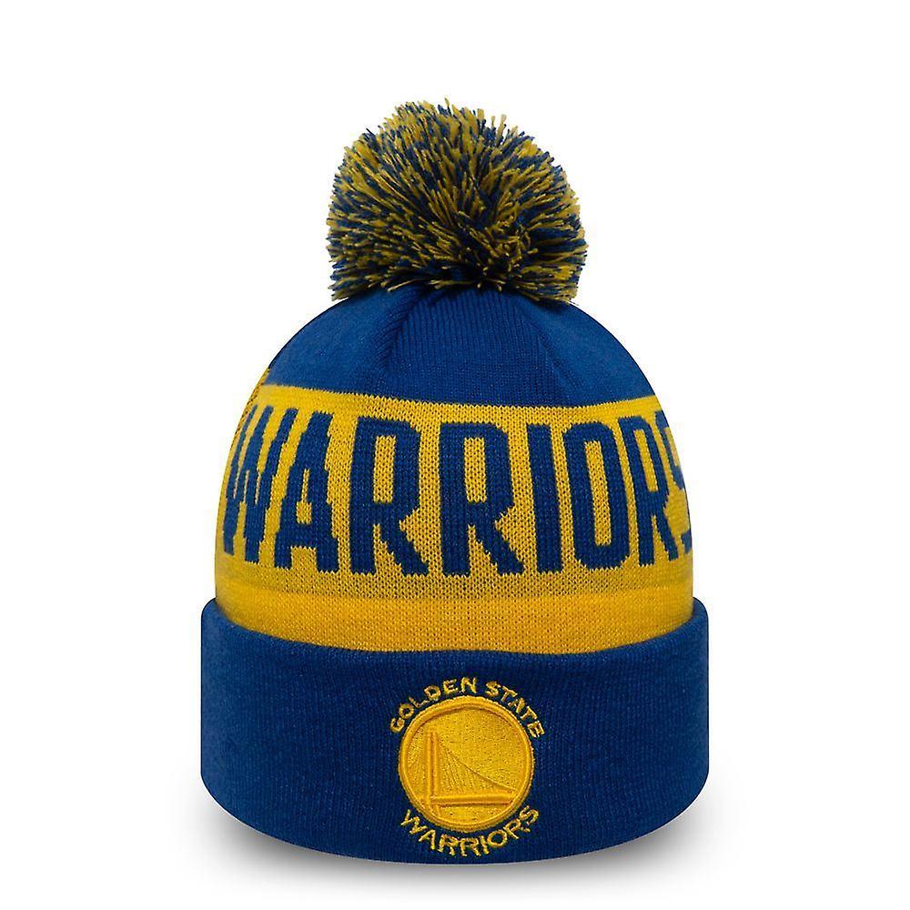 New Era Team Tonal Knitted Cuff Beanie ~ Golden State Warriors