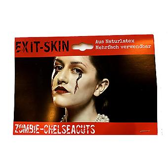 Exit Skin-zombie očné kusy-film make-up Kit