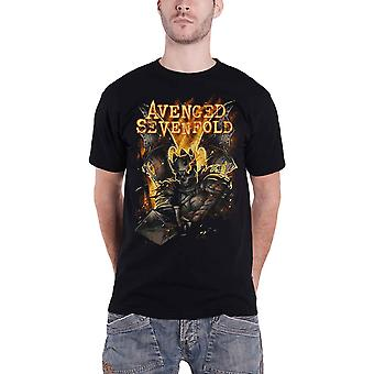 Avenged Sevenfold T Shirt Atone hail to the king  new Official Mens Black