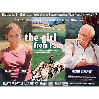 The Girl From Paris Original Cinema Poster