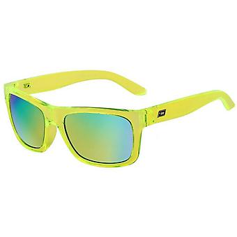 Dirty Dog Boom Sunglasses - Lime Green/Blue