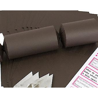 8 Jumbo Brown Make & Fill Your Own DIY Reciclable Christmas Cracker Craft Kit 8 Jumbo Brown Make & Fill Your Own DIY Reciclable Christmas Cracker Craft Kit 8 Jumbo Brown Make & Fill Your Own DIY Reciclable Christmas Cracker Craft Kit