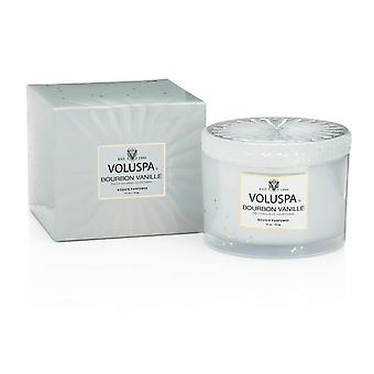 Voluspa Corta Maison Glass Candle Bourbon Vanille 312g
