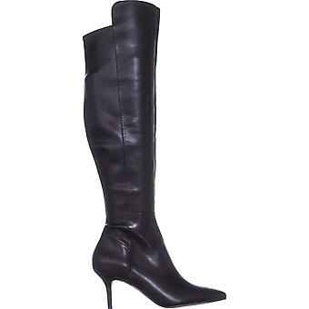 Marc Fisher Womens Adana Leather Pointed Toe Over Knee Fashion Boots