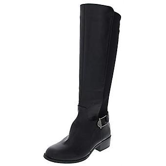 الفاني النساء Kallumm فو الجلود طويل القامة الركبة عالية الأحذية