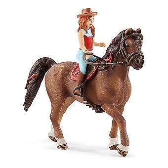 Schleich Horse Club Hannah & Cayenne Spielzeugfigur (42514)
