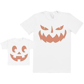 Baby Pumpkin & Daddy Pumpkin - Baby T-Shirt & Father's T-Shirt