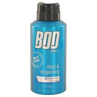Bod Man Blue Surf By Parfums De Coeur Body Spray 4 Oz (men) V728-526518