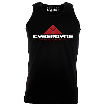 Reality glitch cyberdyne systems mens vest