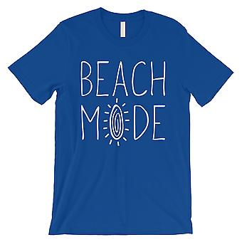 365 Printing Beach Mode Mens Royal Blue Excitement Fun Travel T-Shirt Bday Gift