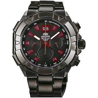 Orient Herrenuhr Sporty quartz Chronograph FTV00004B