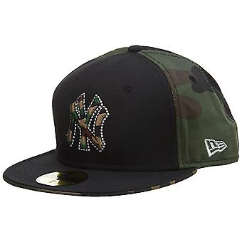 New Era New York Yankees Fitted Hat Mens Style : Nyyankee04