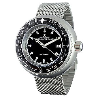 Zeno-Watch - Wristwatch - Men -- Deep Diver Tachymeter black - 500-i1M