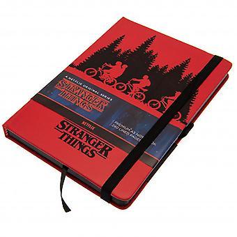 Stranger Things Premium Notebook