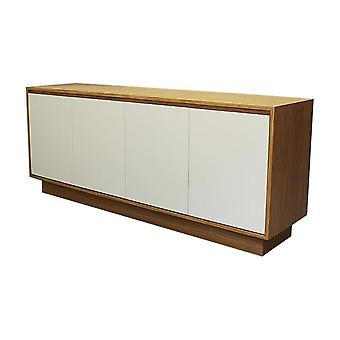 Fusion Living Contemporary Oak And Vanilla Large Sideboard