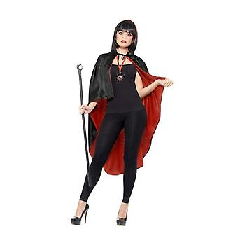 Vampir Kit, mit Reversible Cape Adult Schwarz